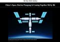 美媒:中国空间站正在一点点成型