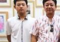 朱军16岁儿子曝光,网上一直传朱军的儿子是弱智是真是假呢?