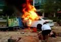 广东惠州车祸致6死13伤