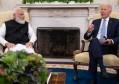 """法国真要退出""""五常""""席位?美国印度线下会晤,拜登力挺印度入常"""